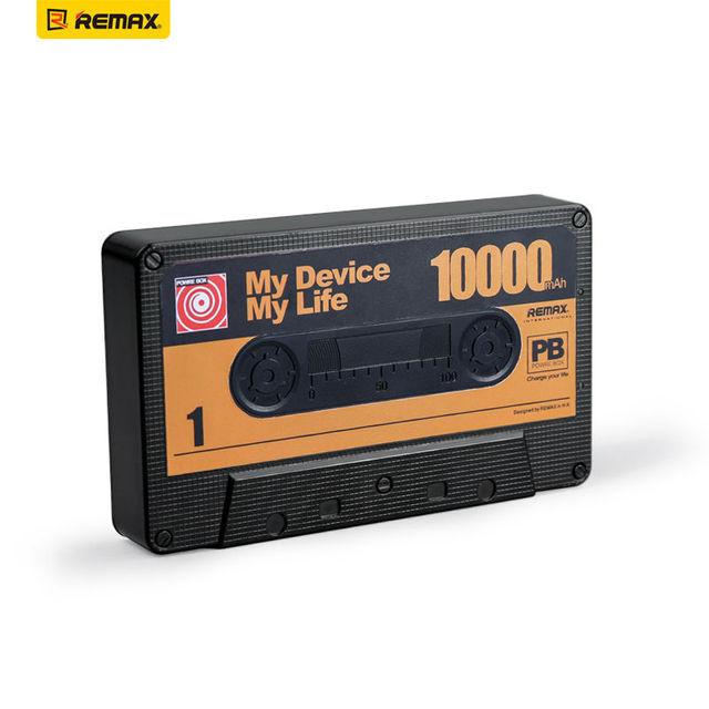 Remax 10000 mAh Cinta Diseño Banco Móvil de Carga En General Tesoro de Gran Capacidad de Teléfono Móvil de Energía de Respaldo de Energía Extra