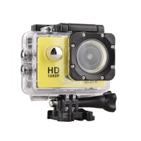 GOLDFOX Action Camera 1080p HD Mini Camcorder 12MP Helmet Car Camcorder 30M Waterproof Sport Camera DV