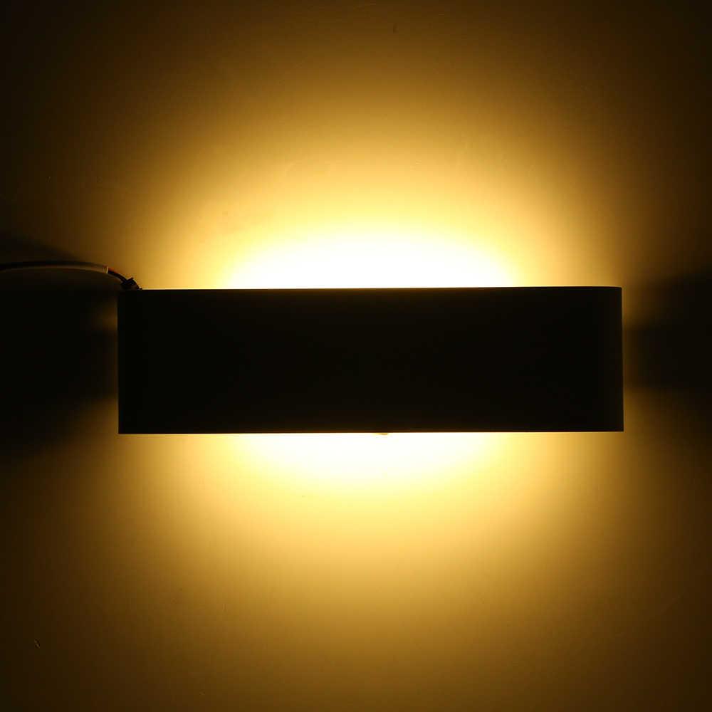 Tomshine AC85-265V 12 Вт 24 светодиодный настенный светильник вверх вниз внутренний коридор лампа теплый белый для коридора спальни гостиной