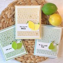 Eastshape Fruit Stamps and Dies Stitch Troqueles De Corte Metal Scrapbooking Die Cut  Craft Bunny