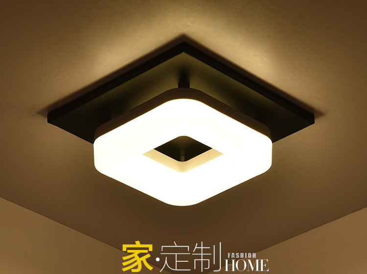 Square corridor Ceiling Lights corridor light entrance lights modern led ceiling lamp balcony hall lighting 20cm LU62248 ZL398 bright colorful led lamp installed inside the entrance hall light corridor lamp ceiling lamp lamp stunning