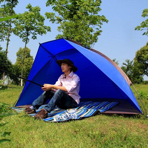 Wind Tour 3 4 Persong Casual Fishing Beach Tent Sun Shelter Windproof Rainproof In Tents From Sports Entertainment On Aliexpress Alibaba Group