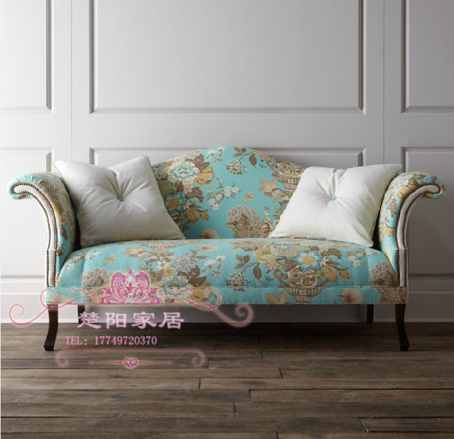 Do The Old European Style Antique Fabric Sofa Couch Post Modern Neo