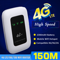 Unlocked Mini 4G WIFI Router Portable 150Mbps 4G Wireless Router SIM Card Auto APN Mobile Wifi Hotspot With 2200mAh Battery