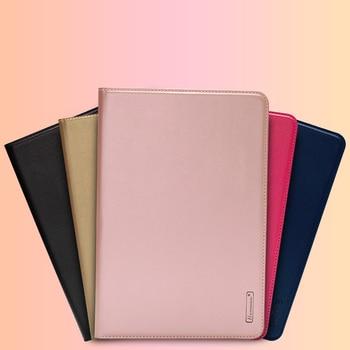 10pcs Hanman Flip Leather Case For iPad Pro 11 2018 Business Genuine Leather Wallet Card Slot Case Cover