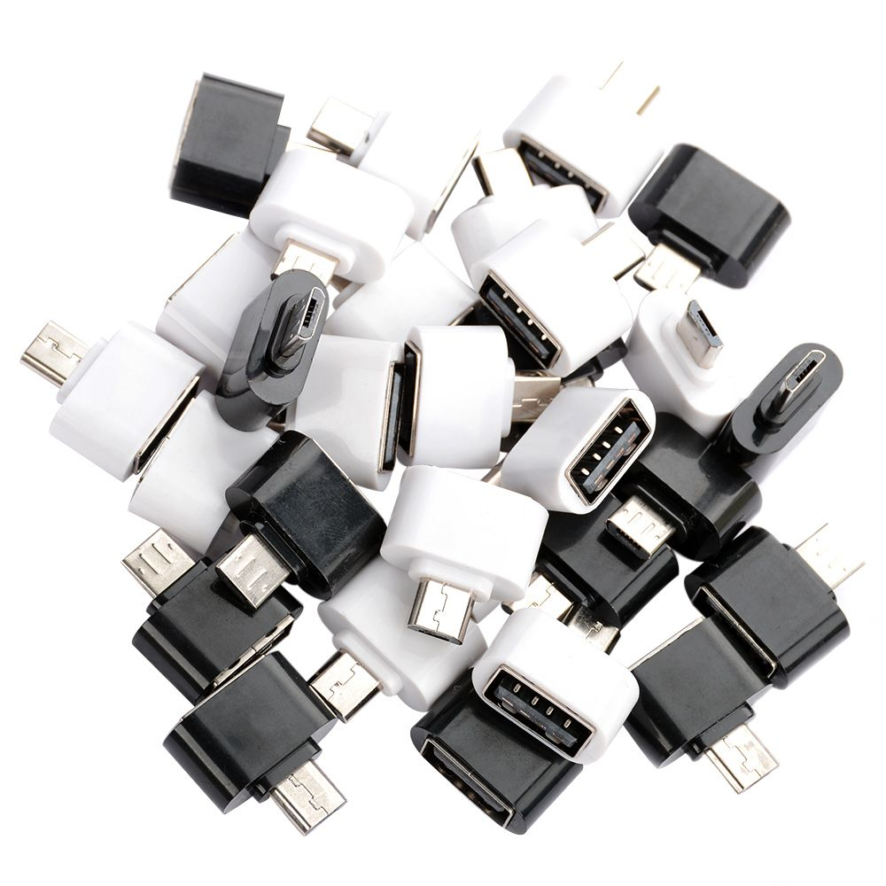 5/10pcs OTG Adapter Host Converter Micro USB Male to USB 2.0 For Android Tablet