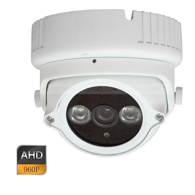 960P AHD 1.3MP HD CCTV Security Camera Indoor 2 Array IR 6mm Lens Metal Dome zilnk security analog hd 960p ahd camera night vision indoor ir 20m 3 6mm lens ir cut filter dome cctv camera