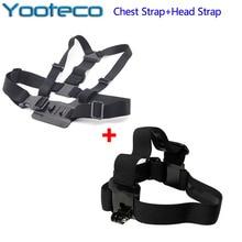 GoPro Accessories Chest Harness Mount Head Belt Strap For SJCAM SJ4000 SJ5000 M10 GoPro HD Hero 4 3+ 3 Xiao Mi Yi sport Camera