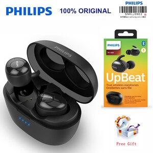 Image 1 - Philips SHB2505 HIFI Senza Fili In Ear Auricolare Bluetooth 5.0 di riduzione del rumore Intelligente con Portatile Casella di Ricarica Test Ufficiale