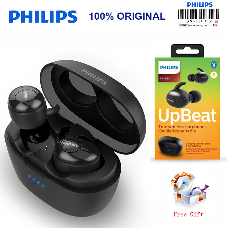 Philips SHB2505 HIFI Wireless In-Ear Headset Bluetooth 5.0 Intelligent noise reduction with Portable Charging Box Official Test