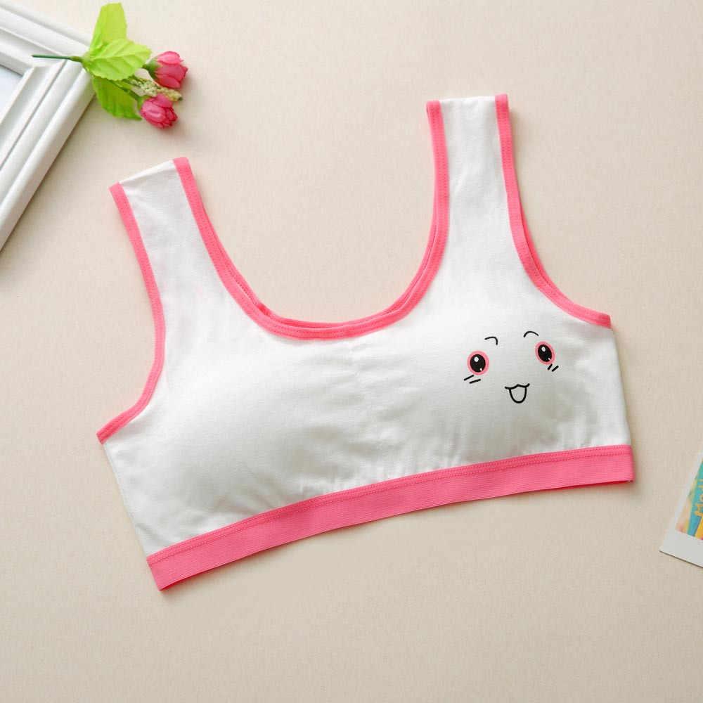 Красивый спортивный бюстгальтер для девочек; модное нижнее белье с принтом; бюстгальтер; жилет; нижнее белье; спортивная одежда; удобная одежда