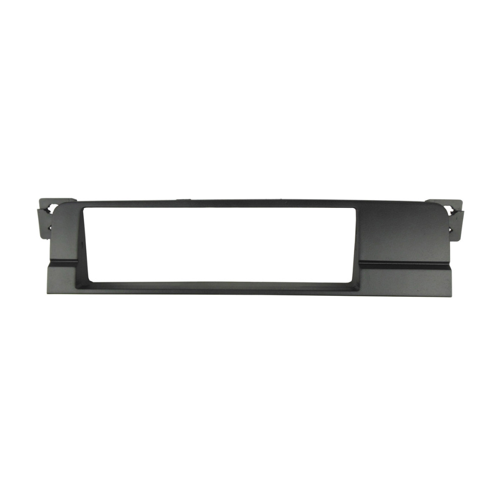 Hight Quality One Din Fascia Radio DVD Stereo Panel Dash Mount Trim Kit Frame Surroud Plate Bezel For BMW 3 Series E46