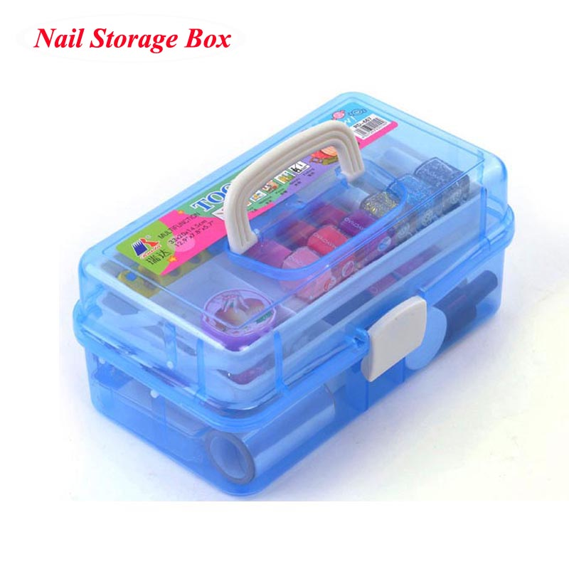 Professional Multi Layer Nail Art Storage Kit For Nail Gel Manicure