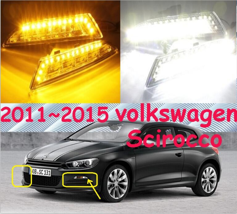 2011~2015 Scirocco daytime light; Free ship!LED, Scirocco fog light,2ps/set;Scirocco 2011 2013 vw golf6 daytime light free ship led vw golf6 fog light 2ps set vw golf 6