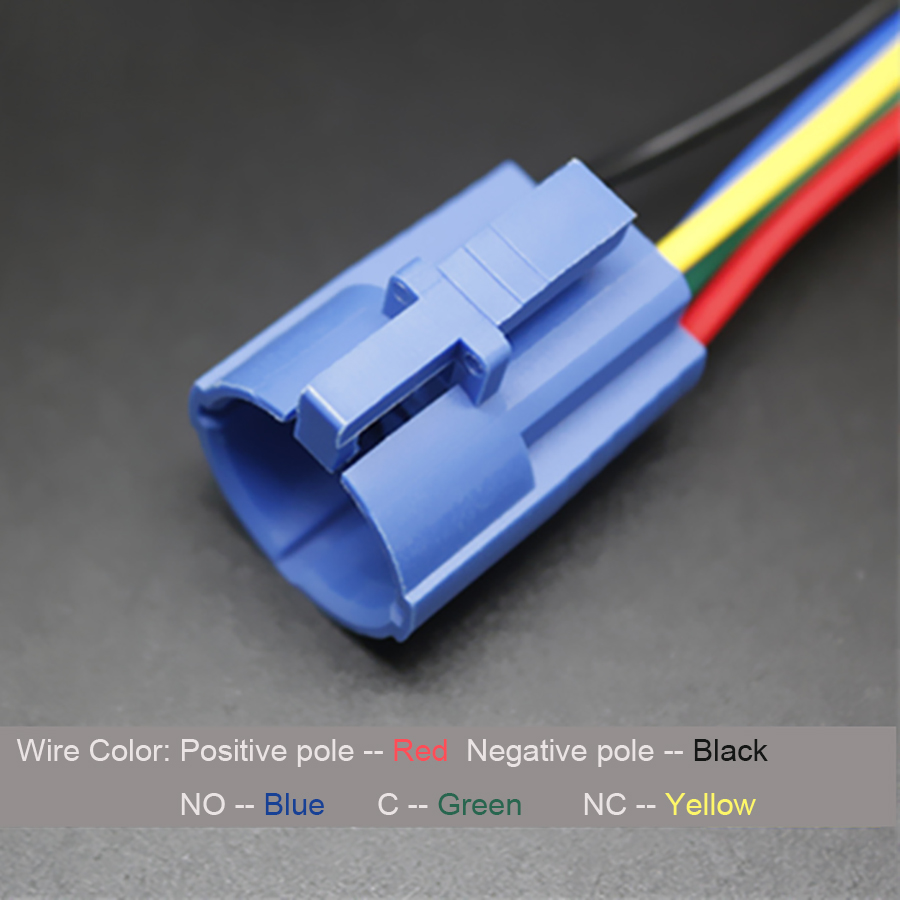 2pcs Quick Plug Connector With 5 Wires For 19mm Diameter Metal Push Wire Colors Button Switch In Connectors From Home Improvement On Alibaba Group