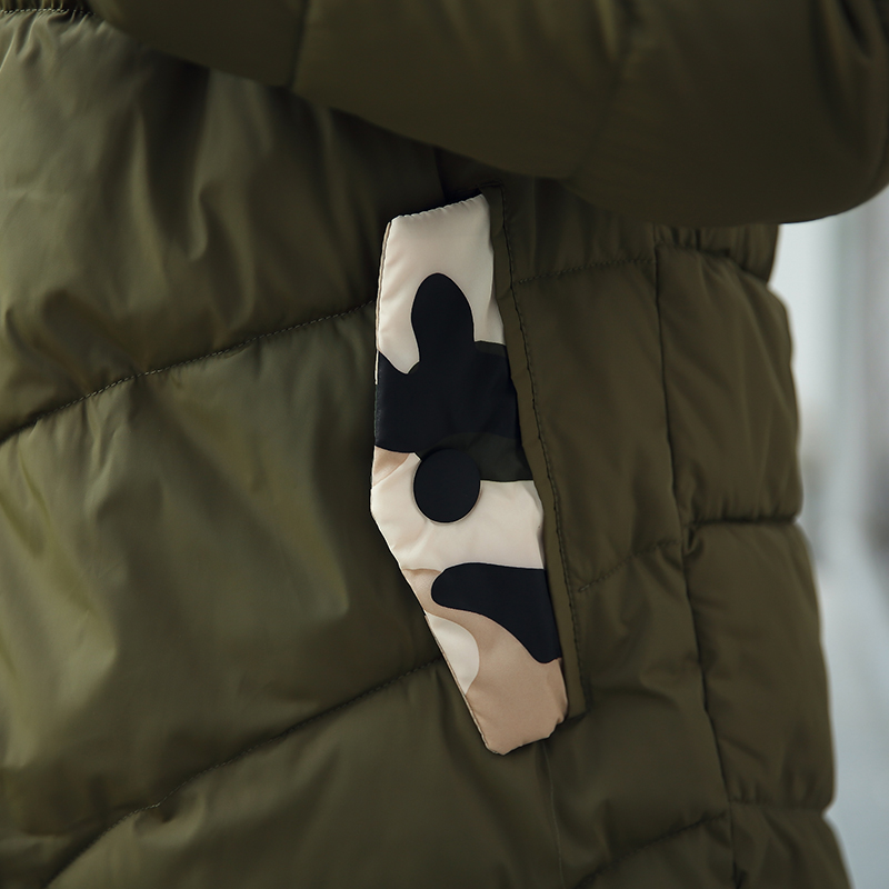 Outwear 2018 Unidades Militar 2 Del verde Espesor Chaqueta Chándal Marino azul De Establece Pantalones Las Camuflaje Nuevas Mujeres Hembra La Delgado gris Con Parka Negro Caliente Capucha Capa Invierno dFwTTBqUx4
