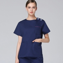 2018 Hospital and Clinic Medical Scrub Suit for Women Comfortable Fit