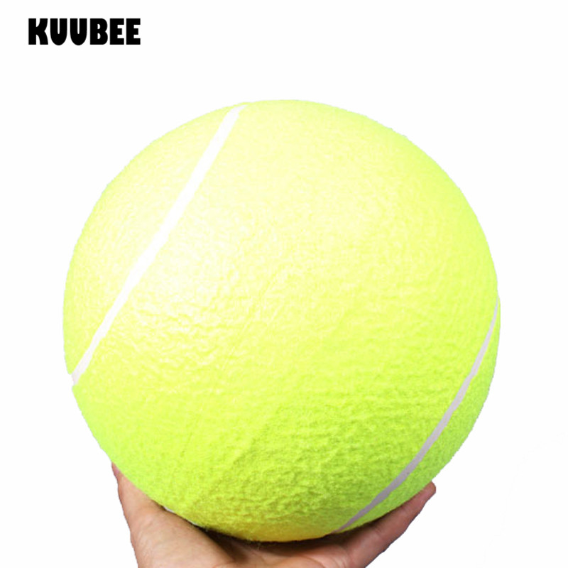 Tennis Ball 9.5 Inches 24cm Outdoor Giant Pet Big Inflatable  Signature Jumbo Cricket Toy Ball