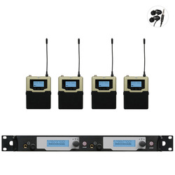 New! In Ear Monitor Wireless System Upgrade SR2050 Double transmitter Monitoring Professional for Stage Performance 4 receivers