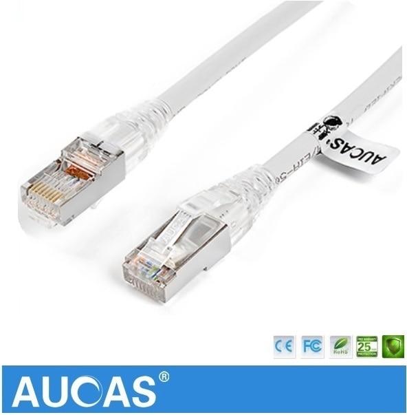aucas 1m 2m 3m 5m cat5e cable shielded ftp patch cable. Black Bedroom Furniture Sets. Home Design Ideas