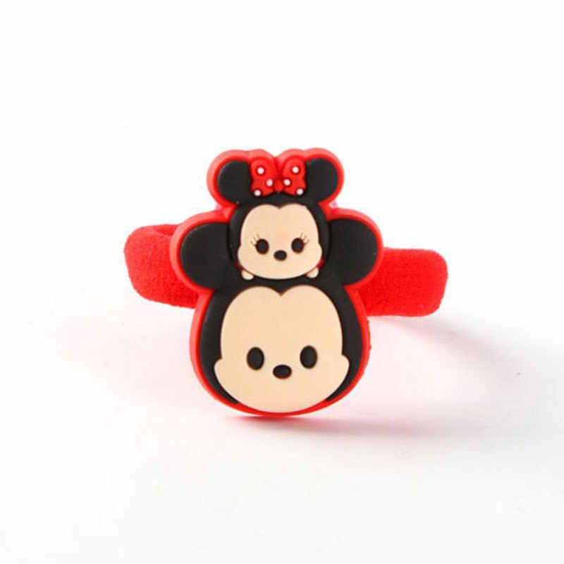 ... Disney Best Selling Baby Kids Children Cute Hair Rope Girls Cartoon  Hair Accessories Ponytail Holders Hair ... 6588d849366