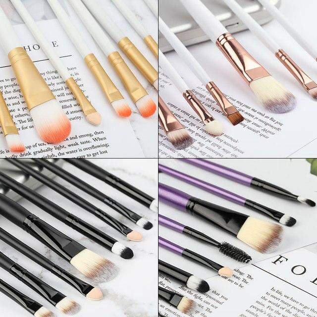 ROSALIND Makeup Brushes 20Pcs Professional Set Powder Foundation Eyeshadow Make Up Brushes Cosmetics Soft Synthetic Hair 1