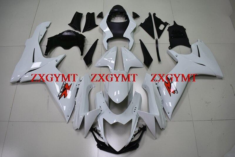 Plastic Fairings for GSX-R600 2011 - 2017 K11 Fairings GSX R 600 2011 White  Body Kits for Suzuki GSXR600 2013Plastic Fairings for GSX-R600 2011 - 2017 K11 Fairings GSX R 600 2011 White  Body Kits for Suzuki GSXR600 2013