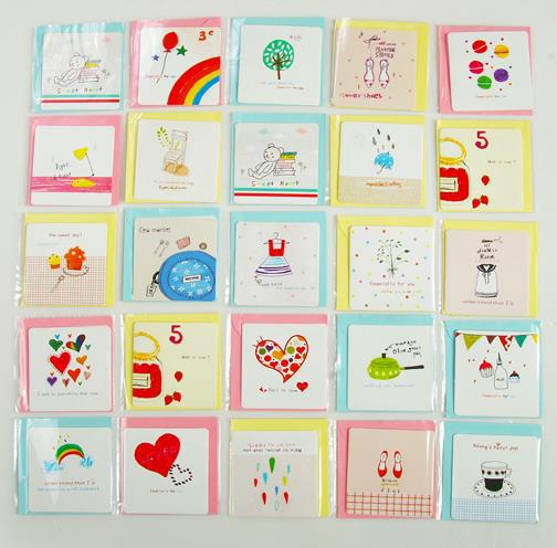 60pcs invitation card with envelope folding type write paper 60pcs invitation card with envelope folding type write paper festival birthday party cute mini childrens day stopboris Images