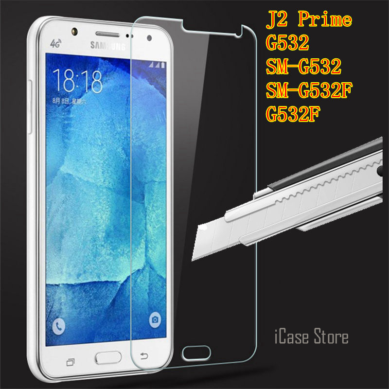 Screen Protector Tempered Glass For Samsung galaxy J2 prime j2prime GLAS SKLO film For samsung G532 SM-G532 SM-G532F G532F pro