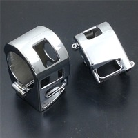 Aftermarket Free Shipping Motorcycle Parts Chrome Switch Housing Cover For Yamaha XVS V Star 1100 Custom