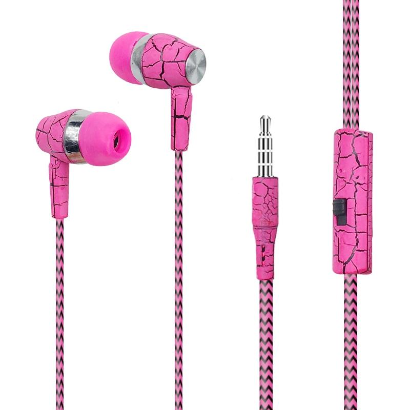 3,5mm Jack Riss Kopfhörer Wired Headset Super Bass Sound Kopfhörer Ohrhörer Mit Mic Für Xiaomi Iphone Mp3 4 Pc Wholsale C015