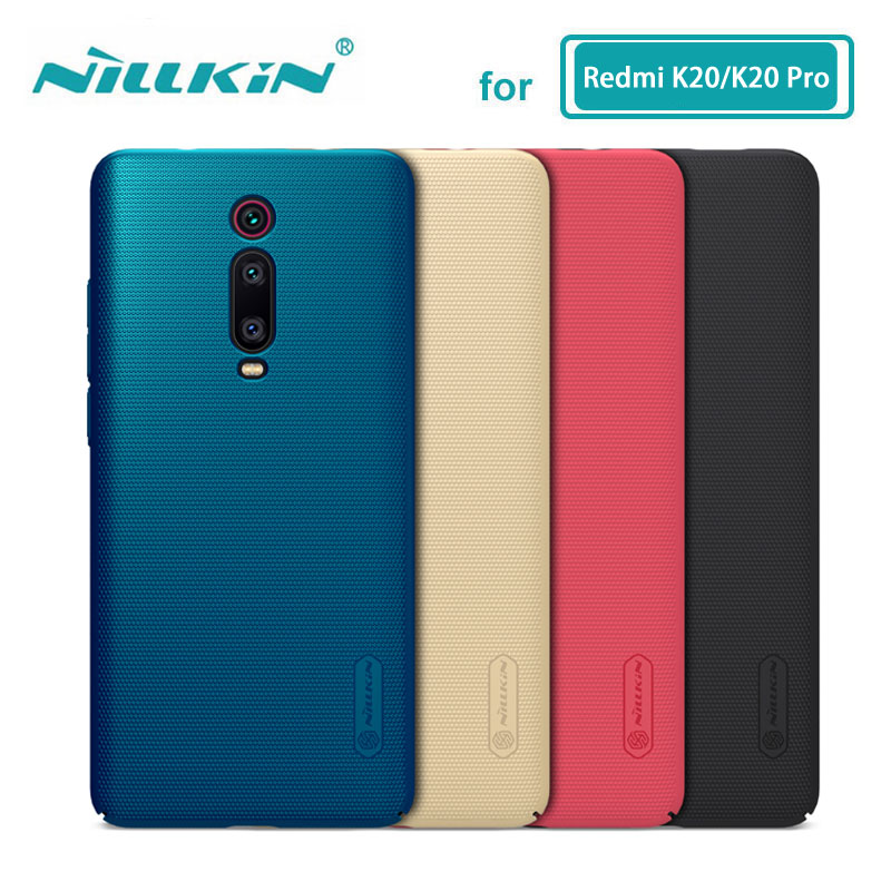 Xiaomi Redmi Caso K20 Invólucro Nillkin Escudo Fosco Matte Rígido de Volta Caso Capa Para Xiaomi Redmi K20 Pro