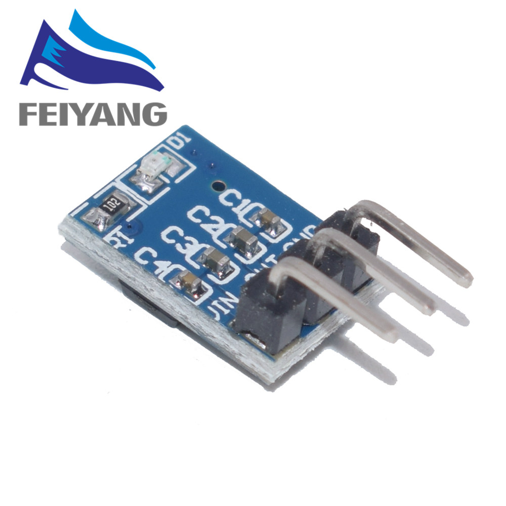 10pcs/lot DC 5V to 3.3V Step-Down Power Supply Module AMS1117-3.3 LDO 800MA image