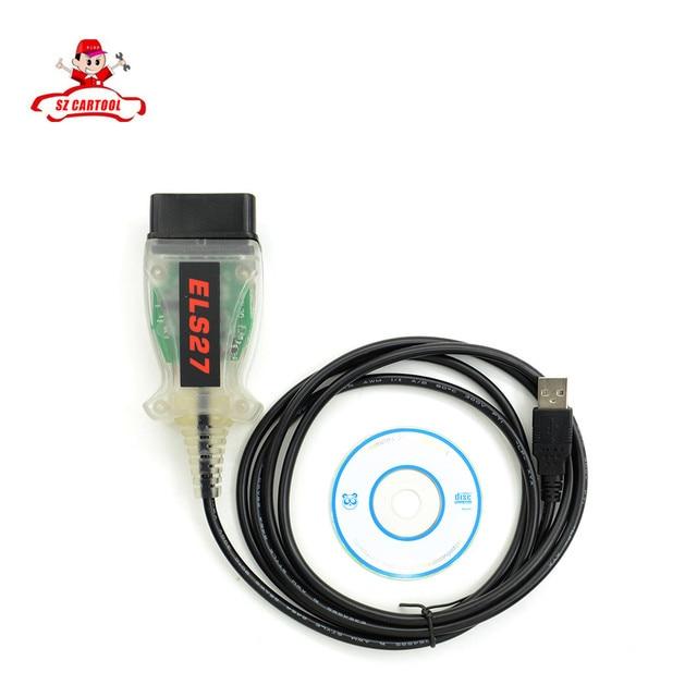 ELS27 FORScan Сканер Для Ford/Mazda/Lincoln/Mercury Автомобилей ELS27 FORScan Сканер OBD2 Диагностический Поддержка Кабель ELM327 J2534
