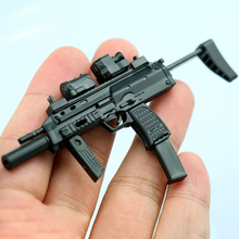 цена на 1/6 Scales Military  4D Gun Model Toy Set Soldier accessories Weapon German MP7 Dual Gun For 12