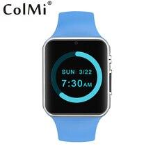 Ips 240*240 acc colmi smart watch vs20 magia som chifre do bluetooth smartwatch sincronização notifier suporte do cartão sim(China (Mainland))