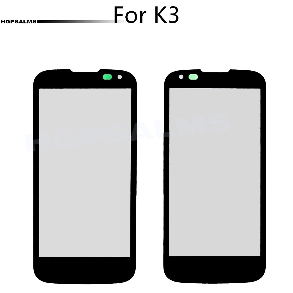 For <font><b>LG</b></font> K3 <font><b>K100</b></font> K100DS LS450 Front Screen Outer Glass Lens Touch Screen Outer Cover Panel Lens image