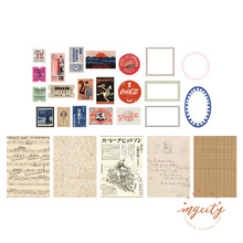цена на 100Pcs/pack Vintage Sticker Scrapbooking Pack Creative DIY Bullet Journal Decorative Adhesive Label Material Stationery Supplies