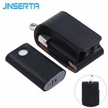 JINSERTA Full Protective Case for glo PU Leather Carrying Case Box Holder Pouch Bag for GLO Electronic Cigarettes(China)