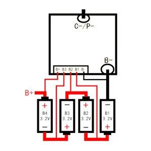 Image 2 - 4S 12V 100A Lifepo4 Lithium sắt Phosphate BMS pin ban bảo vệ W cân bằng Dòng Điện Cao F/Ô Tô bắt đầu Inverter