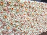 Wedding Flower Wall flower Backdrop Hydrangea &Peony Wedding decoration 10.5ft x 7.9ft