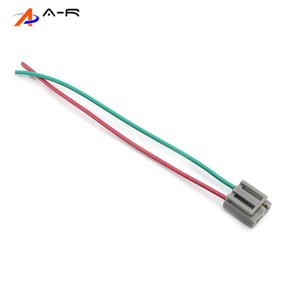 hight resolution of 2x hei distributor cable wire harness pigtail dual 12v power and tach connector plug for cadillac