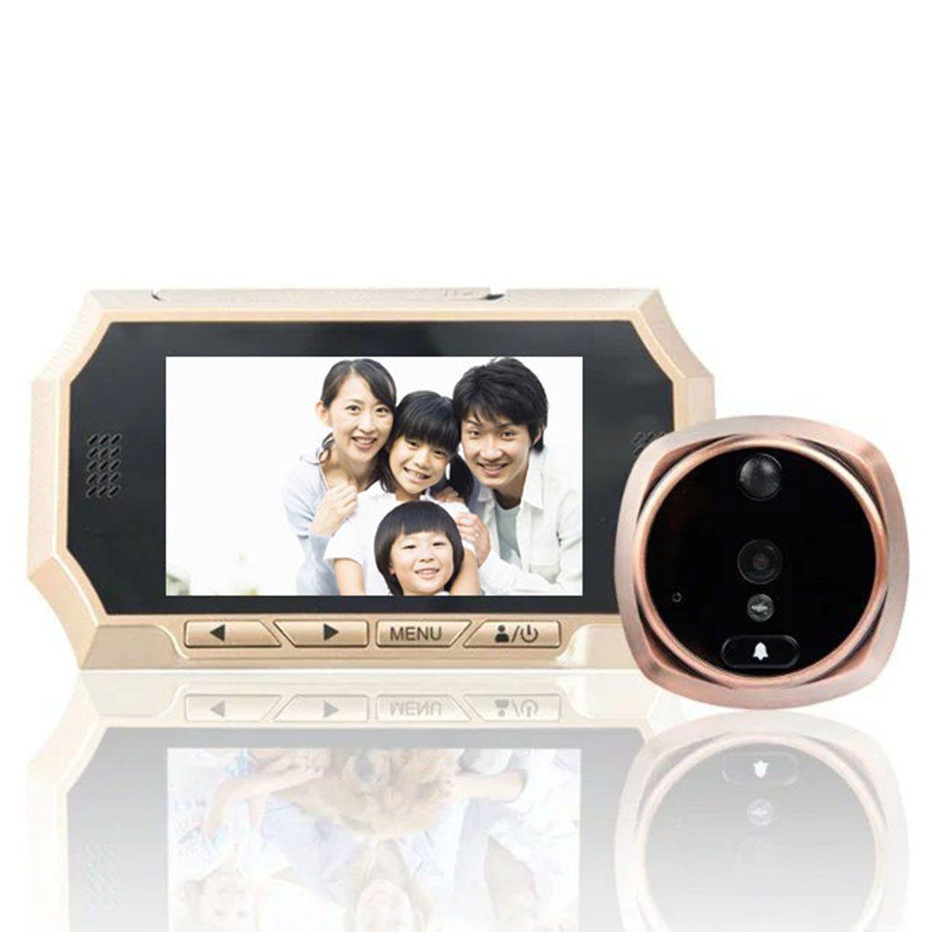 4.3inch LCD Digital Wireless Doorbell Peephole Door Eye Camera Monitor