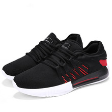 YeddaMavis Mesh Shoes Men Casual Sneakers 2019 Spring Autumn New Fashion Classic Outdoor Male Black Flats