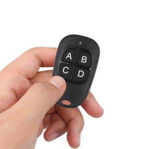 Image 5 - kebidu 4 colors Hot Wireless 433Mhz Remote Control Copy Code Remote 4 Channel Electric Cloning Gate Garage Door Auto Keychain