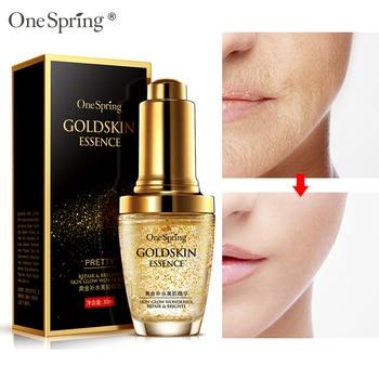 One Spring 30ml 24K Gold Face Serum Moisturize Essence Cream Whitening Day Creams Anti Aging Anti Wrinkle Firming lift Skin Care Онихомикоз