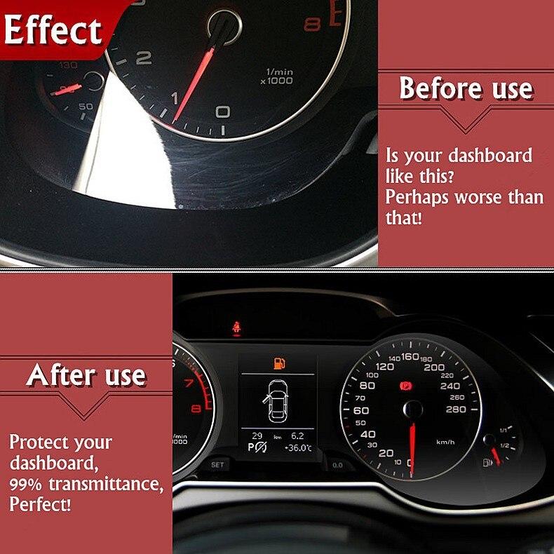 Прибудет Специальный автомобильный HD 4H инструмент протектор экрана для Volkswagen VW POLO приборной панели защитная пленка