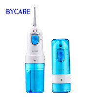 BYCARE High Quality Abs Dental Water Oral Irrigator Floss Higiene Dental Water Flosser Rechargeable