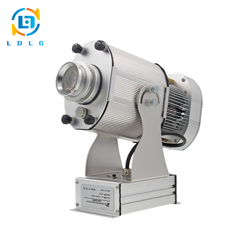 NEWEST Outdoor IP65 Rustproof Aluminum Alloy 80W LED Gobo Projector Single Image Static 220V Waterproof 10000lm Projector Lights