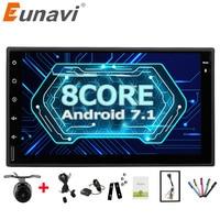 Eunavi Universal 7 Octa 8 Core 2 Din Android 7 1 Car Radio Double 2Din Autoradio